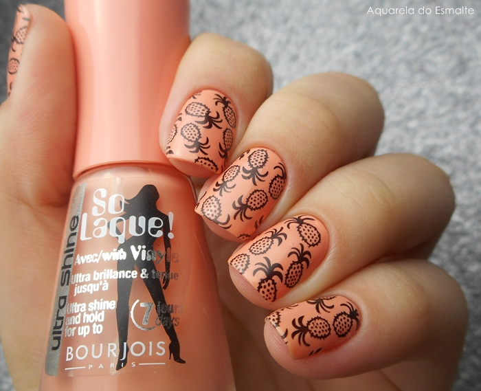 Esmalte Bourjois - Abricot Ouate + Placa Bundle Monter - 713
