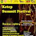 Ketep Pass Gelar Bamboo Lighting Festival Pertama Di Indonesia