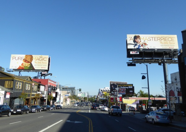 Little Prince consideration billboards Sunset Strip