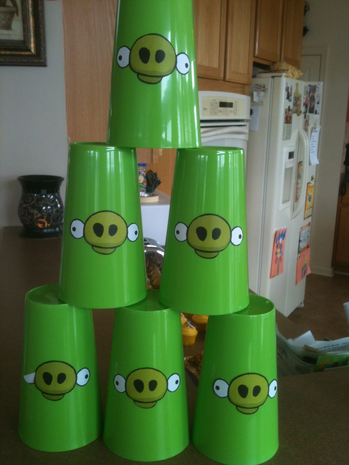 Kreations By Kristen Angry Birds Birthday Party