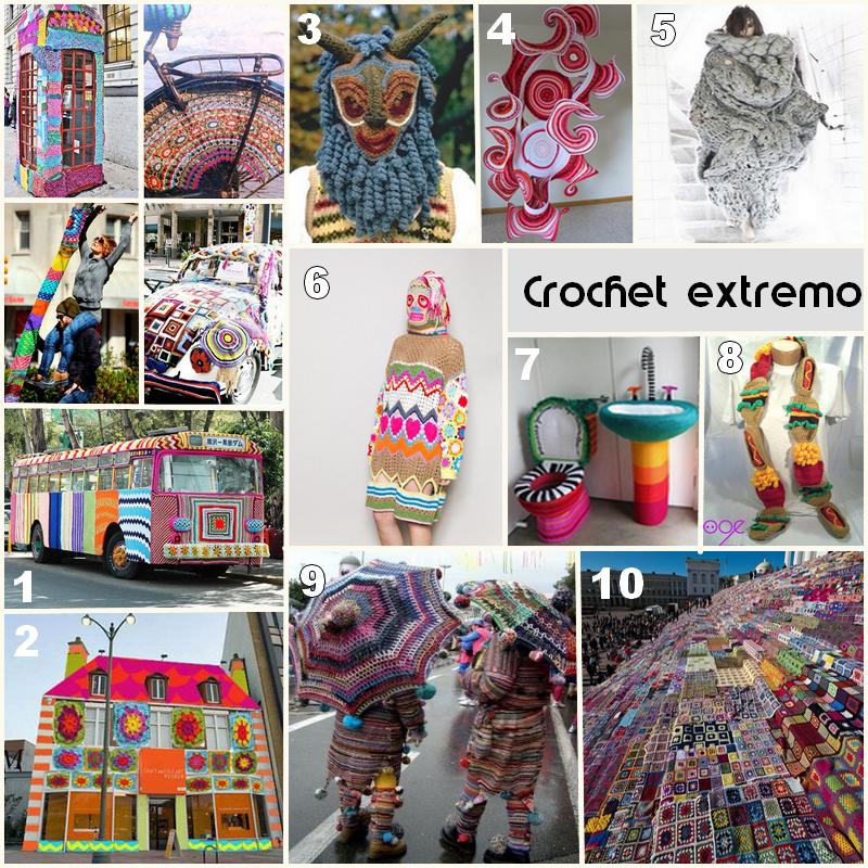 Crochet extremo