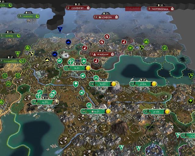 Civilization 5 - Tense Borders Description