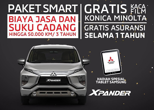 Promo Akhir Tahun Mitsubishi Xpander Bintaro