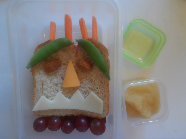 Fun Monster Sandwich for Kids
