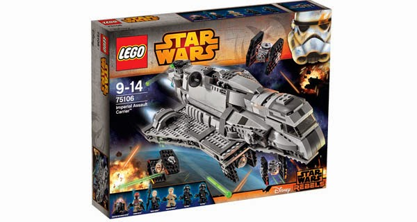 Ref. 75106 Imperial Assault Carrier
