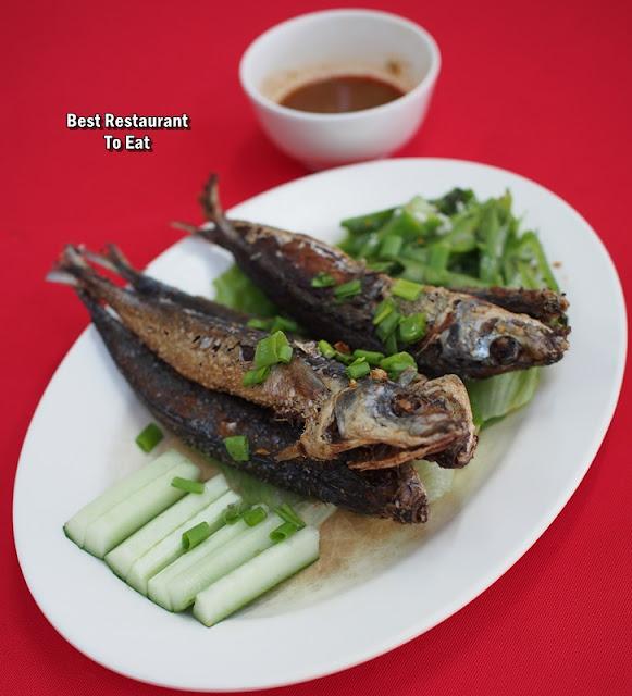 Ah Soon Kor Fried Ikan Basung aka Sardines