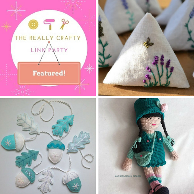 The Really Crafty Link Party #47 featured posts