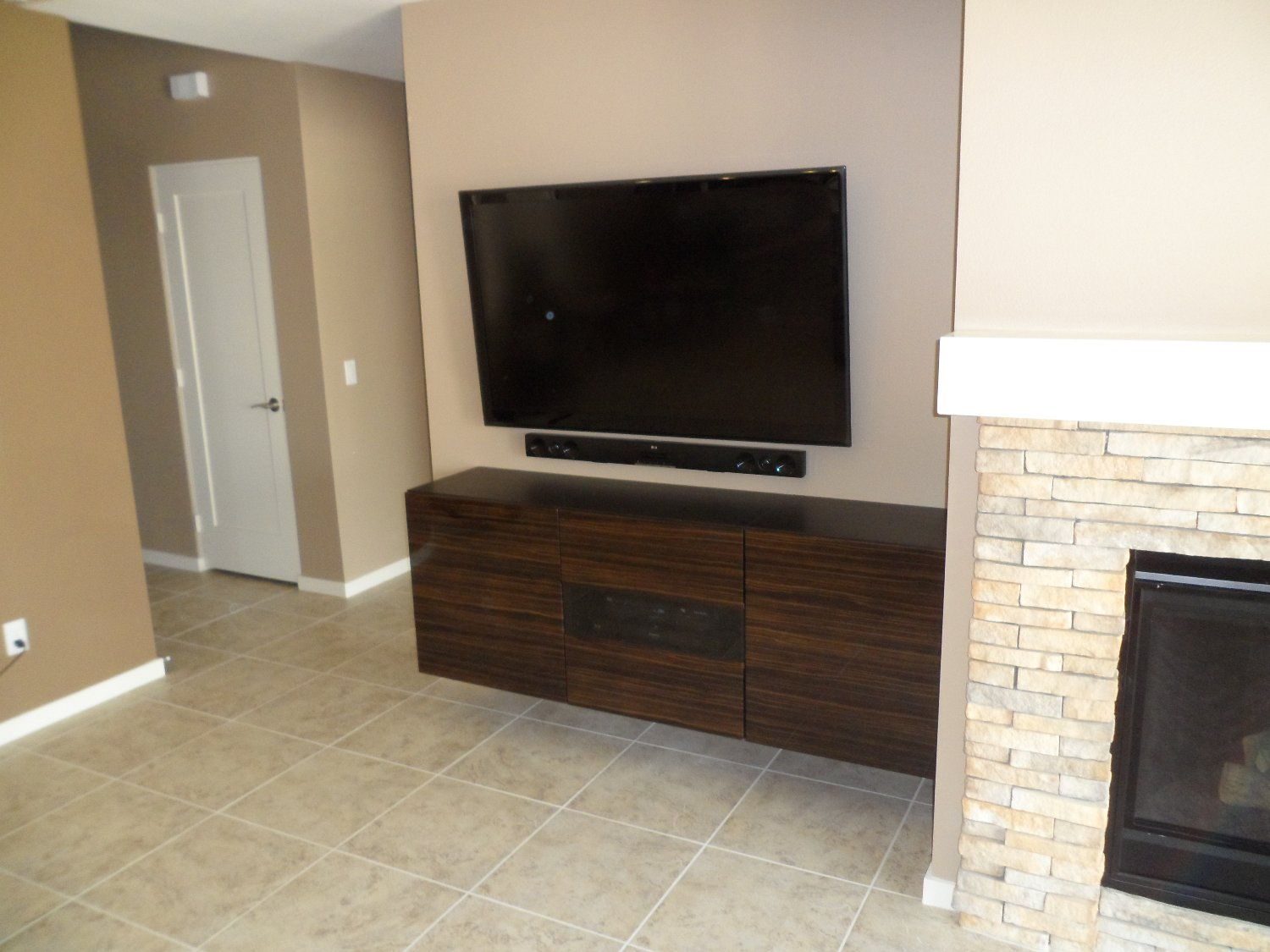 BESTA Floating Media Cabinet With Flat Panel TV ~ Get Home ...