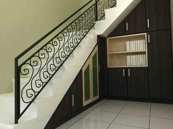 Tangga Rumah Minimalis Untuk Ruangan Sempit