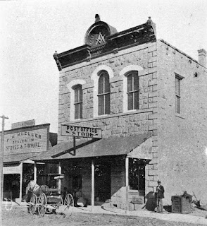 Kerrville Masonic Building in 1899
