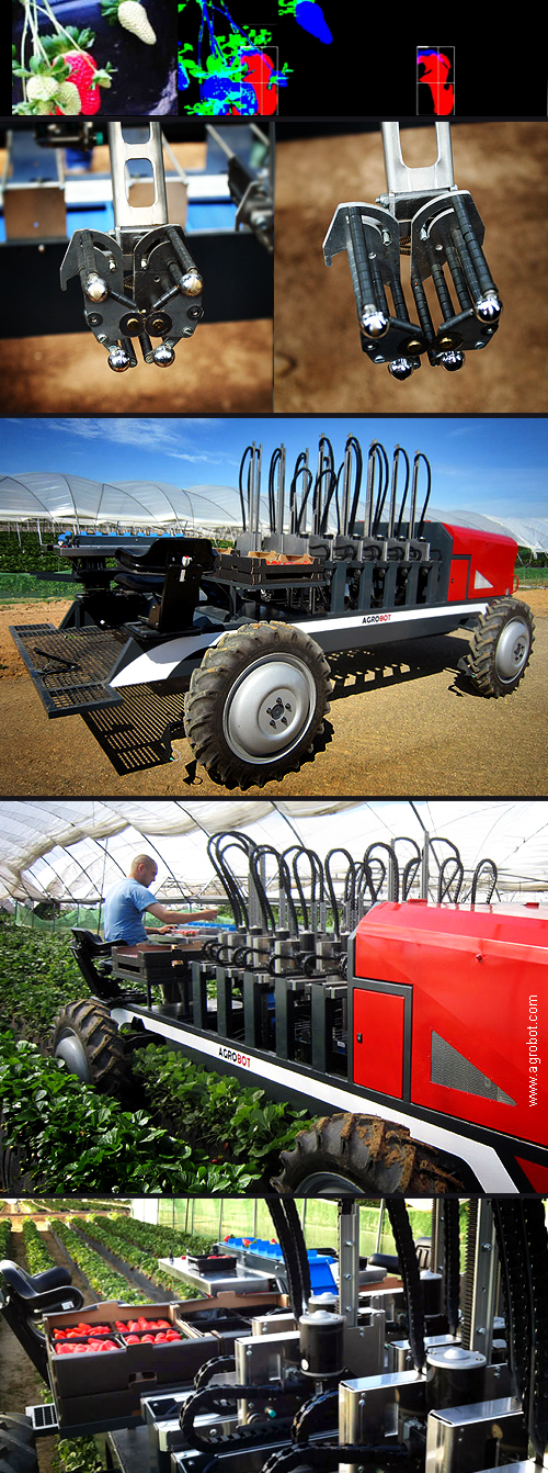 Agrobot SW6010 Strawberry Harvester