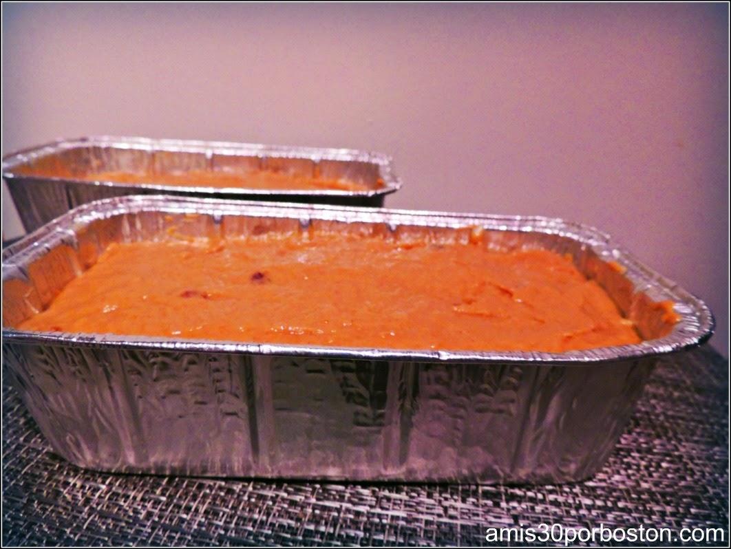 Receta del Pan de Calabaza con Nueces y Arándanos