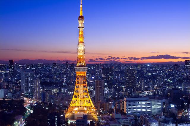 Giá vé máy bay đi Nhật Bản bao nhiêu - Tháp Tokyo nơi bạn ngắm toàn cảnh thành phố Tokyo