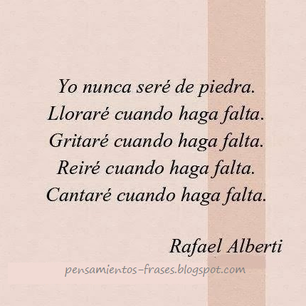 frases de Rafael Alberti