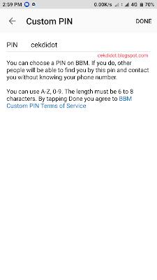 Cara Ganti/Costum Pin BBM Sendiri di Hp Android Tanpa Bayar