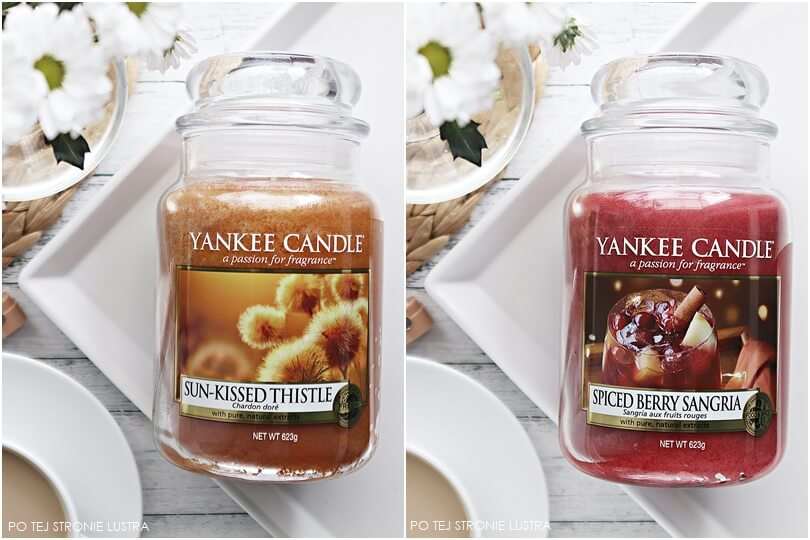 yankee candle sun kissed thistle i spiced berry sangria