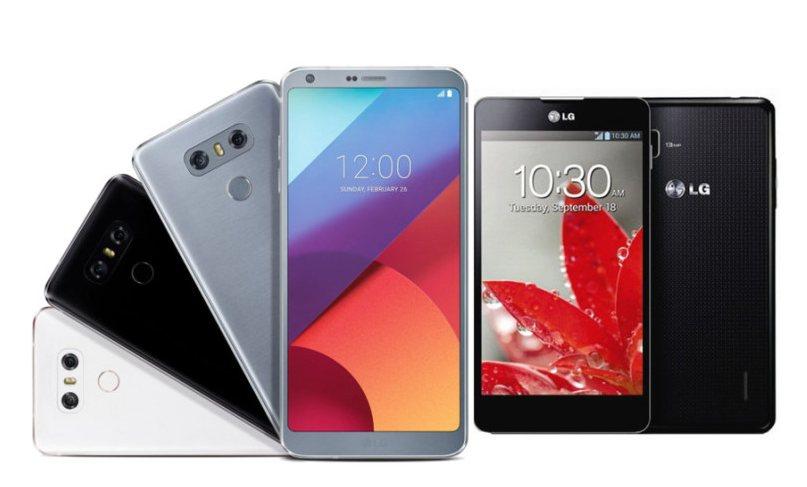 LG Optimus G VS LG G6