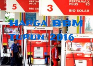 Daftar Harga BBM Turun Maret April 2016