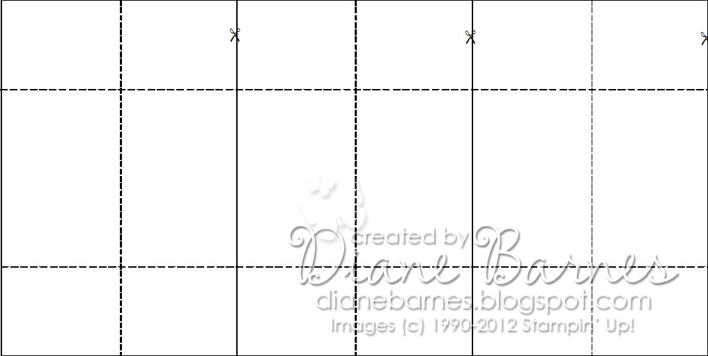 Never Ending Card Template By Colour Me Hy Baby Birs