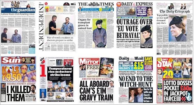 front pages 11-01-16