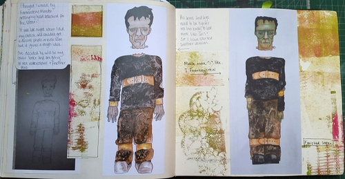 Whoopidooings - Stage 1 - Rotations Sketchbook - Visual Communication