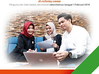 Lowongan Kerja BNI Syariah Terbaru 2019