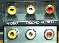 Prise RCA sur TV