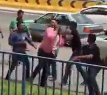 nigerian beaten malaysia