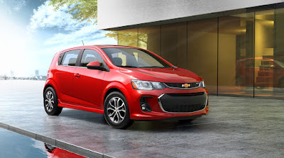 Check Out the All-New and Improved 2017 Chevrolet Sonic
