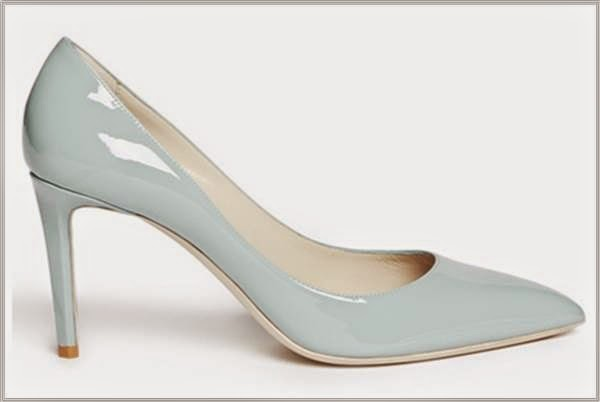Baby Blue Patent Pumps