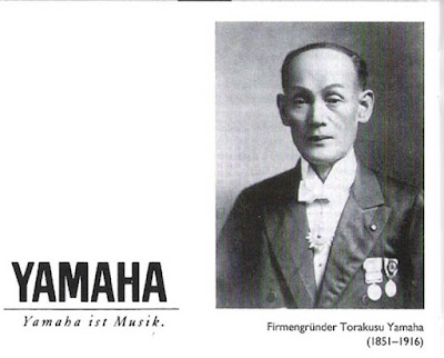 Biografi Torakusu Yamaha        Torakusu Yamaha adalah tokoh populer dalam dunia bisnis dan koorporasi internasional asal Jepang. namanya disejajarkan dengan Konosuke Matsushita - Pendiri Panasonic, Sakichi Toyoda (Pendiri Toyota), Yataro Iwasaki (Pendiri Mitsubishi) dan Akio Morita - Pendiri Sony. Beliau adalah pendiri Yamaha Coorporation, raksasa sepeda motor asal Jepang yang brand terkenal dalam dunia otomoti dan industri music. Lahir 20 April 1851 dan meninggal pada usia 65 tahun tepatnya 8 Agustus 1916. Sejak muda Torakusu Yamaha telah berkecimpung dalam dunia ilmu pengetahuan terutama bidang astronomi, mekanika dan teknik. Ia berguru pada ahli asal Inggris yang memberinya peluang untuk magang di sekolah kedokteran Jepang di Kota Nagasaki. Disini Yamaha bekerja sebagai mekanik peralatan kedokteran.   Suatu hari Yamaha diminta sekolah tersebut memperbaiki alat music organ. Ia merampungkan pekerjaannya dengan sempurna, dan pekerjaan tersebut mengilhaminya mendirikan perusahaan alat music terutama organ. Cita-citanya terealisasi tahun 1887 dengan keberhasilannya mendirikan Yamaha Manufacturing Company, produsen pertama dari alat-alat musik Barat di Jepang. Pada 1889, perusahaan itu mempekerjakan 100 orang dan menghasilkan 250 organ setiap tahun.  Tahun 1899, Kementrian pendidikan Jepang mengirim Yamaha ke Amerika Serikat untuk belajar membuat piano. Setelah itu, Perusahaan Nippon Gakki (tempat Yamaha bernaung) mulai membuat