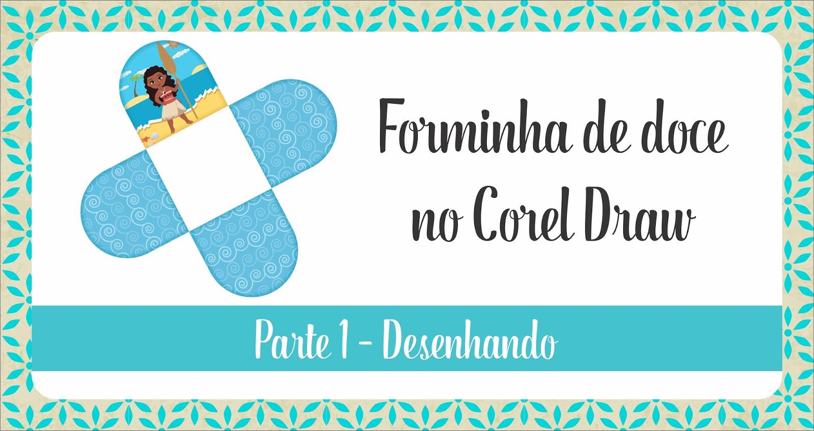 Laís Ribeiro Papelaria Criativa Forminha De Doce No Corel Draw