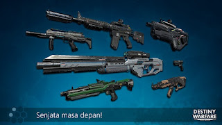 Destiny Warfare Mod Apk+Data for Android