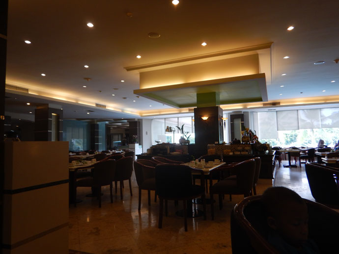 restoran hotel pangeran pekanbaru