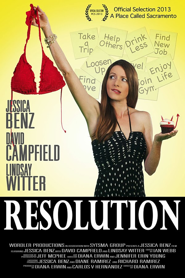 Jessica Benz - Resolution Poster - Cast Images