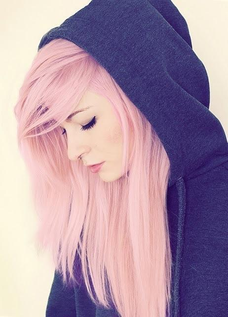 Girls In Vogue: Trendy Hairstyles, Hot Fashion: Pink Hair ...