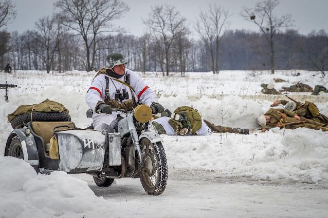 Реконструкция боя при Соколово 9.03.2018 - 41