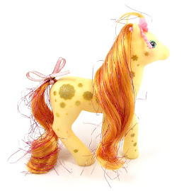 MLP Twinkler Year Eight Glittery Sweetheart Sister Ponies G1 Pony
