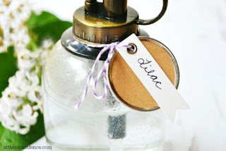 Homemade Lilac Scented Room Spray