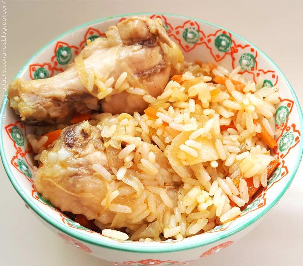 Como hacer arroz con pollo y verduras salteadas s per - Como hacer verduras salteadas ...