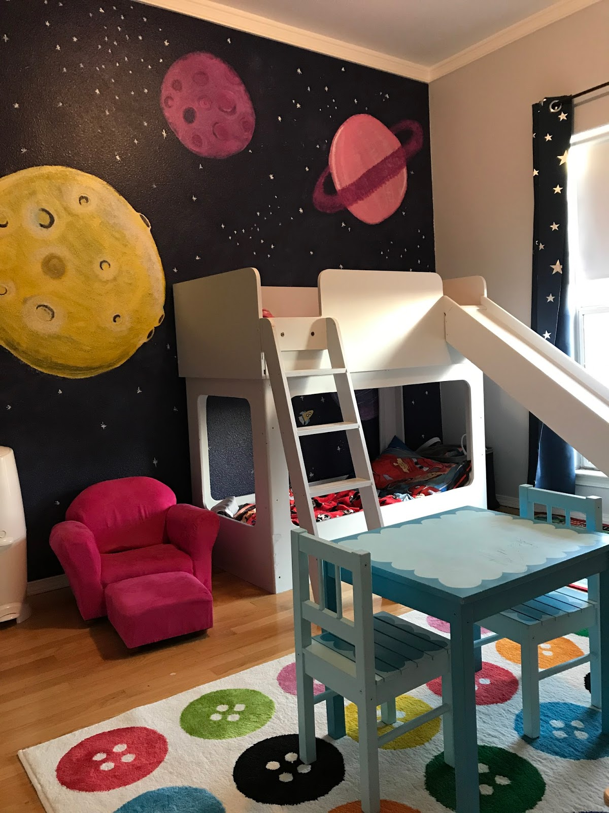 Outer Space Mural Canvas And Joy