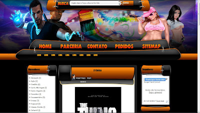 Template Editavel Modern - Blogger