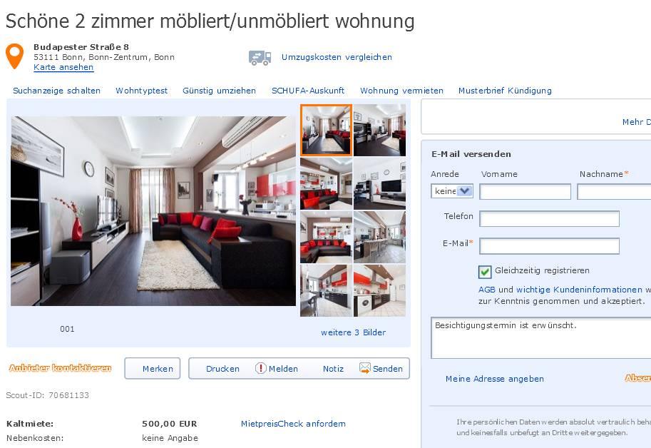 Bonn Wohnung  Zimmer