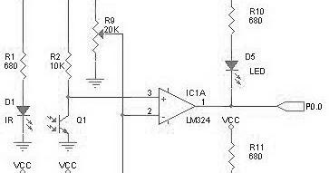 Infrared Motion Sensor Infrared Sensor Circuit Wiring