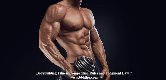 Bodybuilding Fitness Competition Rules Judgment Law 7
