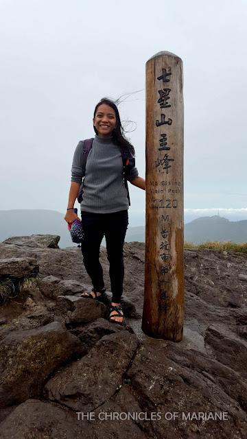 qixingshan peak