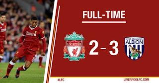 Liverpool Kalah 2-3 dari West Brom - FA Cup