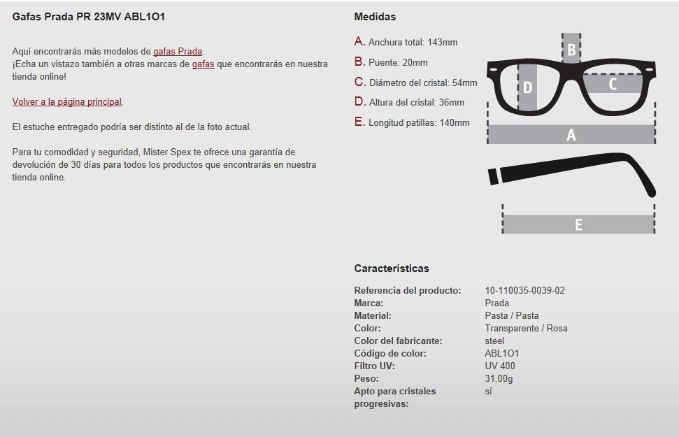 11bc92a8c2 Y si tenemos muy claro lo que queremos, o buscamos unas gafas con unas  características concretas según nuestra anatomía, podemos elegir los  criterios de ...