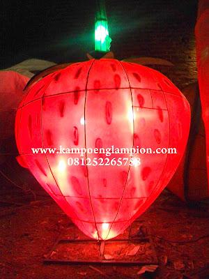 Lampion Strawberry