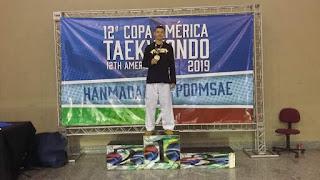 Registrense Lucas Weller sagrou-se Bicampeão da Copa América de Taekwondo